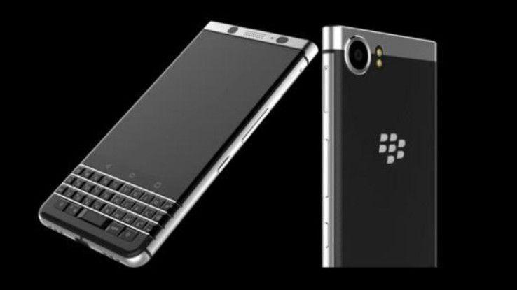 Das Blackberry DTEK 70 (Mercury) wird am Samstag vor dem MWC vorgestellt.