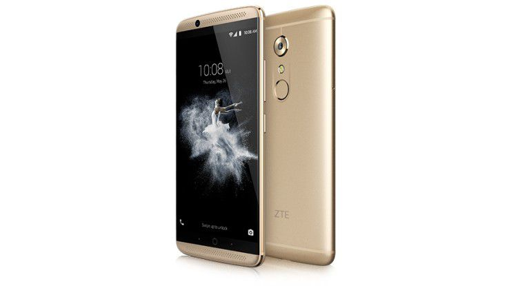 ZTE bereitet das Android-7-Update für das Axon 7 vor.