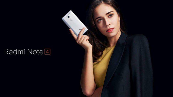 Xiami bietet das Redmi Note 4 zunächst ausschließlich in Indien an.
