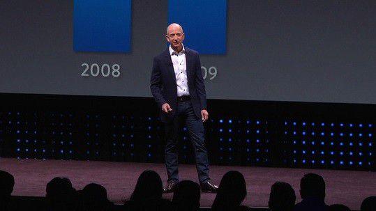 Kann einmal mehr starkes Wachstum vorweisen: Jeff Bezos, Amazon-CEO.