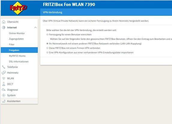 Vpn Mit VPN!Assistent lassen sich VPN-Verbindungen zu Fritzboxen schnell und einfach einrichten.
