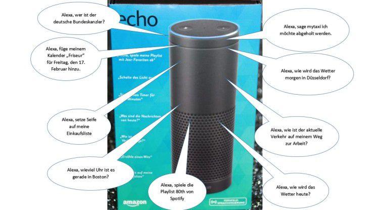 Amazon will das Ökosystem um Echo, Echo Dot und Alexa ausweiten.
