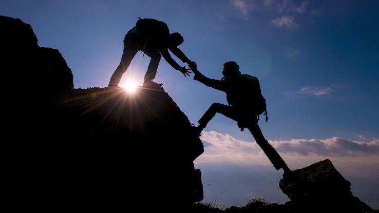 Herausragende Teamleistungen basieren auf Vertrauen.