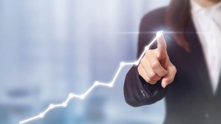 Die Nachfrage nach Cloud-Services gewinnt an Fahrt.