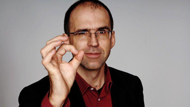 """Peter Flume, Rhetoriktrainer: """"Smalltalk wird überbewertet."""""""