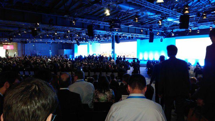 Knapp 3.000 Besucher fanden zur Bosch Connected World 2017.