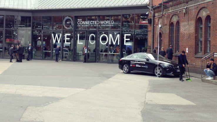 Auf der Hausmesse Connected World zeigte Bosch seine IoT-Lösungen.