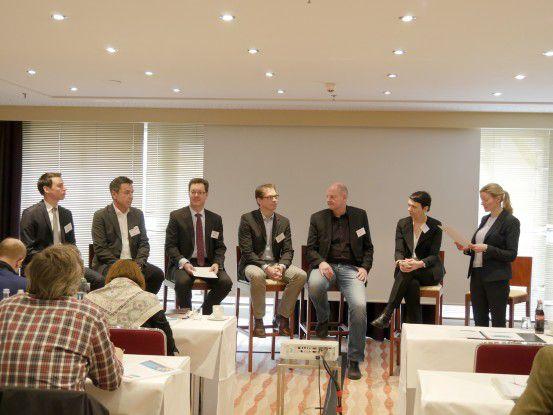 Es wurde intensiv diskutiert beim IDC Expertentalk zum Thema Mobile Security