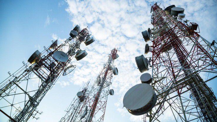 Telekommunikationsanbieter stehen vor dem Infrastrukturausbau für 5G