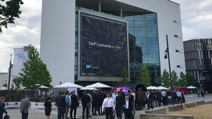 Zur IoT-Hausmesse SAP Leonardo Live in Frankfurt/Main kamen rund 1600 Besucher.