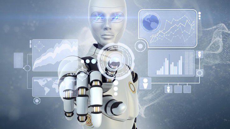 Software-Roboter eignen sich vor allem für einfache, wiederkehrende und regelbasierte Tätigkeiten.