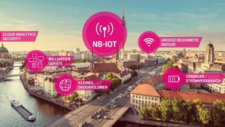 Der Funkstandard Narrowband IoT übertragt Daten besonders energieeffizient und über weite Strecken.