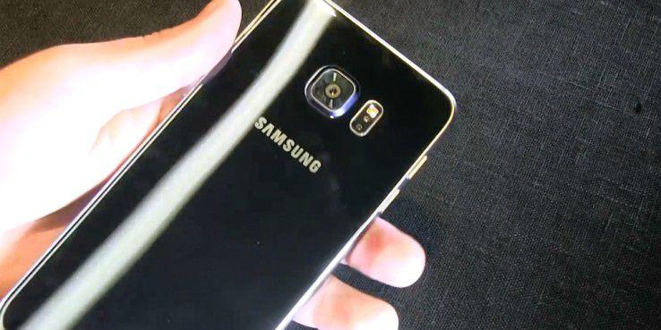 Das Design bleibt gegenüber dem Galaxy S6 Edge identisch, nur in der Größe wächst das Galaxy S6 Edge + auf 5,7 Zoll an.