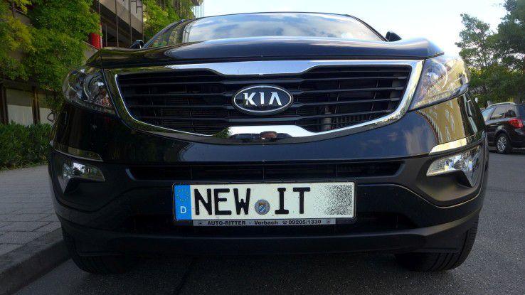 Viele IT-Services im Auto sind noch neu.
