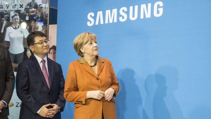 Der CeBIT-Rundgang von Kanzlerin Angela Merkel findet 2016 erst am zweiten Messetag statt. Zur Eröffnung schickt sie ihren Stellvertreter Sigmar Gabriel.