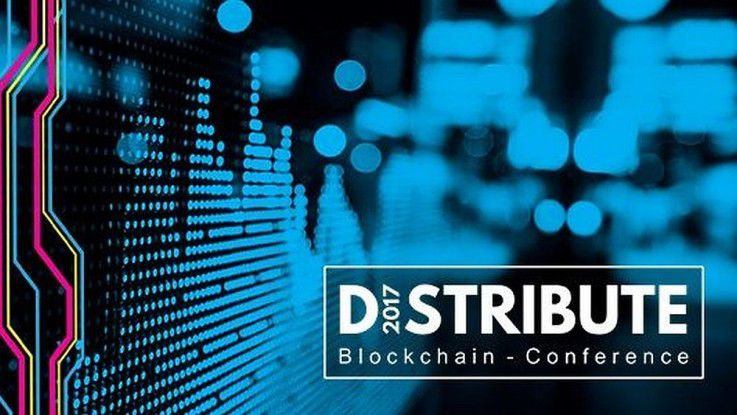 "Die ""Distribute Blockchain Conference"" startet am 16. Juni 2017 in Hamburg"