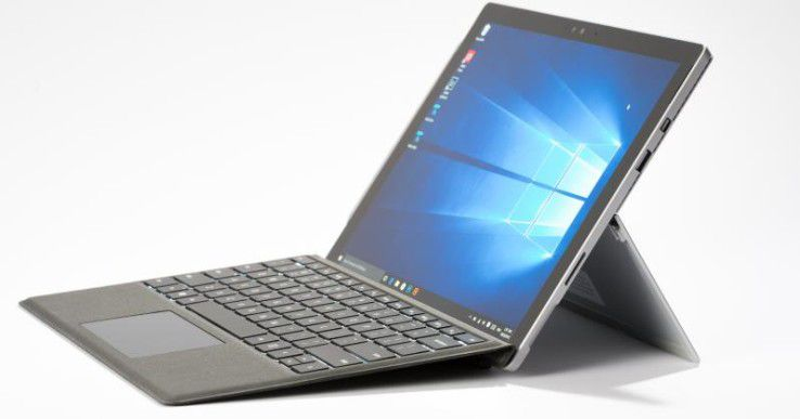 Surface Pro 4: Windows-PC mit Tablet-Ambitionen.