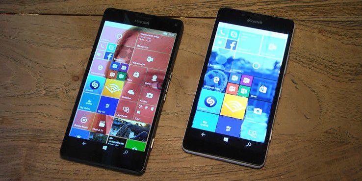 Die meisten aktuellen Windows-Geräte wie das Lumia 950 sind auch als Dual-SIM-Version verfügbar.