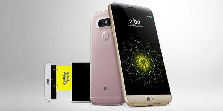 Das LG G5 ist das erste modulare Smartphone von LG.