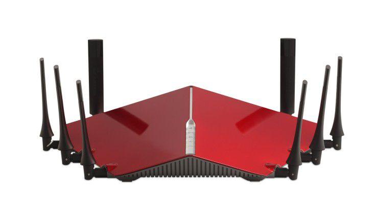 Moderne Router geizen nicht mit Funkbandbreite.