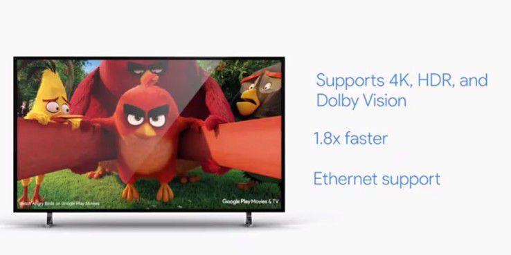 Chromecast Ultra mit 4 K: Technische Details