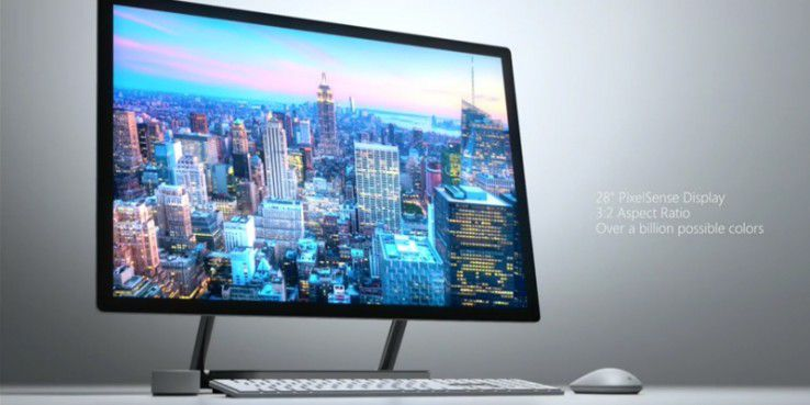 Surface Studio ist der der neue All-in-One-PC. von Microsoft.