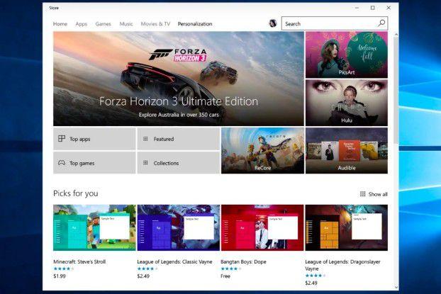 Im Windows Strore gibt es künftig Themes für Windows 10 - sowohl kostenlose als auch kostenpflichtige