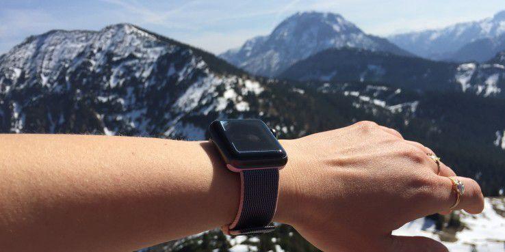 Apple Watch auf Reisen