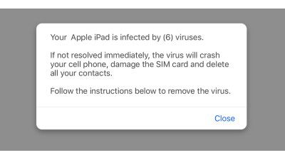 Neue iOS-Malware: Pop-up fordert Installation einer VPN-App