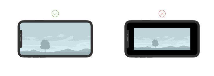 Design-Richtlinien für iPhone X aktualisiert.