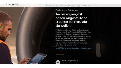 Businesslösungen aus Cupertino: Apple at Work: Macs und iPads in Unternehmen - Foto: Apple