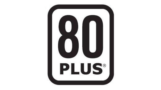 Auszeichnung: Netzteile mit dem 80-Plus-Logo garantieren bei einer Auslastung von 20, 50 und 100 Prozent einen konstanten Wirkungsgrad von mehr als 80 Prozent. (Quelle: 80plus.org)