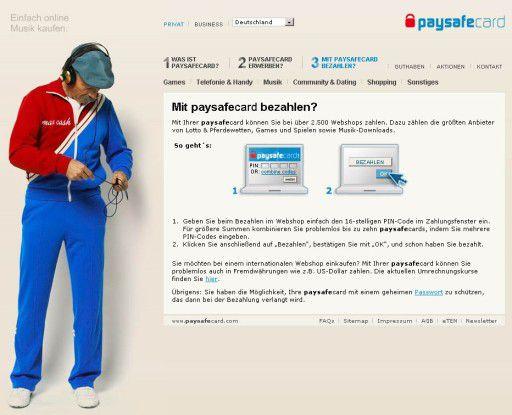 Paysafecard Ab Wieviel Jahren