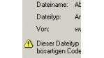 Download-Warnung des Internet Explorer ist fehlerhaft