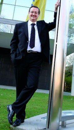 """IT-Executive des Jahres in der Kategorie """"Großunternehmen"""": Dirk Berensmann, CIO Deutsche Postbank."""
