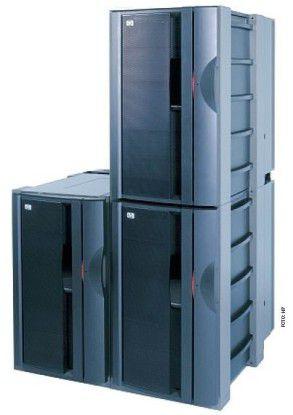 Der Superdome aus der HP-9000-Familie lässt sich mit PA-Risc- und Itanium-Prozessoren bestücken. In Zukunft setzt HP aber auf die Intel-Architektur.