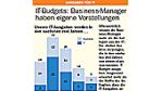 IT-Budgets: Business-Manager haben eigene Vorstellungen