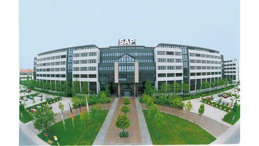 Die SAP-Zentrale in Walldorf.