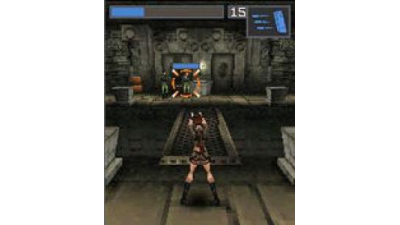 3D-Rundungen fürs Handy: Lara Croft Tomb Raider Legend