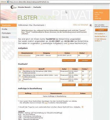 Elster Online