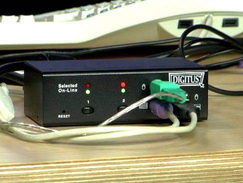 Der KVM-Switch von Digitus in Computerwoche-TV (Video, 2:25 Minuten).
