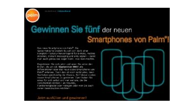 Palm zeigt neues Smartphone am 12. September 2007