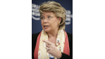 """Deutsche Kritik scharf zurückgewiesen: Telekom-Regulierung: Reding klagt über """"Vorurteile und Mythen"""" - Foto: Viviane Reding"""