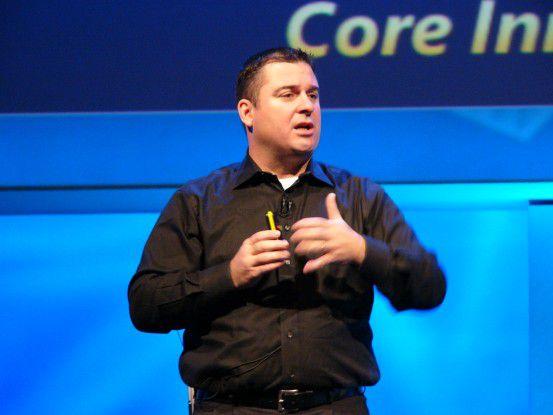 Bob Kelly, Corporate Vice President bei Microsoft, präsentierte auf dem TechEd IT-Forum in Barcelona, wie sich sein Unternehmen in Sachen Virtualisierung gegen Konkurrenten wie VMware aufstellen wird.
