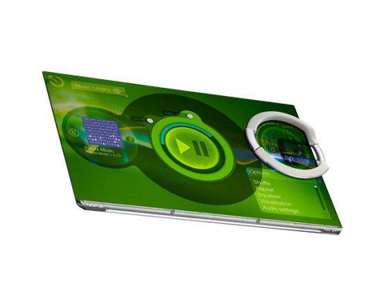 Flexibel dank Nanotechnologie: Nokias Handy-Konzept Morph
