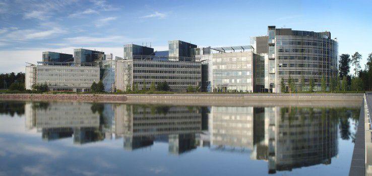 Die Nokia-Zentrale im finnischen Espoo