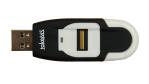 Mem-Drive Biometric Scanline von TakeMS: CW-Test: USB-Speicher sichert Daten mit Fingerabdruck - Foto: TakeMS