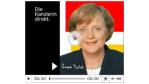"""""""Raubkopien sind kein Kavaliersdelikt"""": Merkel sagt Künstlern Hilfe im Kampf gegen Internet-Raubkopien zu - Foto: Bundesregierung"""