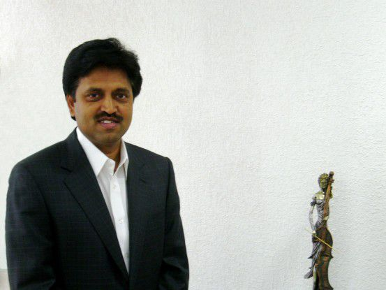 Skandal: Satyam-Chef Rama Raju muss seinen Hut nehmen.
