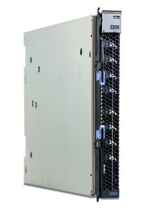 Ein QS22 kann viele Standard-Server ersetzen.